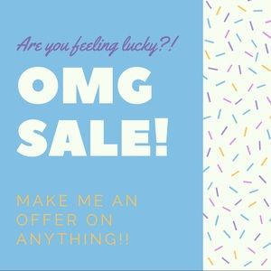 Other - Make an offer on any item, I'm feeling generous!!!